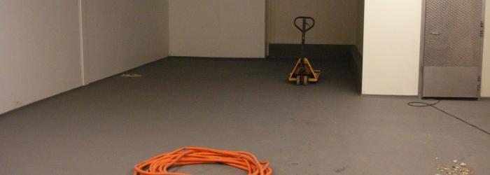 productieruimte met ucrete vloer