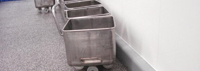 Bij Vion Scherpenzeel is een margia granietvloer gerealiseerd