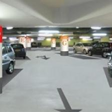 Impressie parkeergarage Koningplein Tilburg